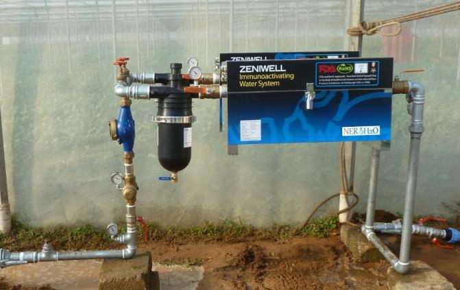 Sistema ad alta portata DM BIO 12000 litri/ora distribuito in Europa da NERO' H2O d.o.o.